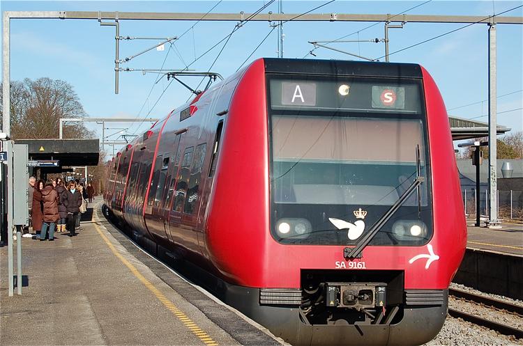 S-toget kører ikke i weekenden, men der indsættes togbusser. Foto: AOB