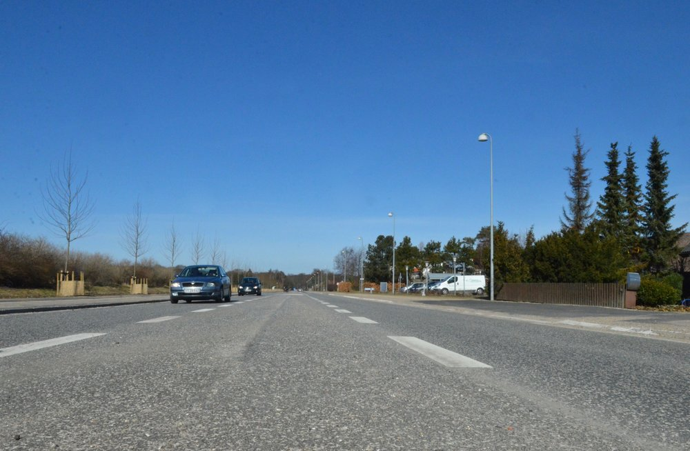 Der skal renoveres veje, cykelstier og fortove for godt otte millioner kroner i Allerød i år. Men kun meget lidt i Blovstrød. Således bliver kørebanerne på Kongevejens 2. etape ikke asfalteret - det sker tidligst i 2021. Foto:AOB