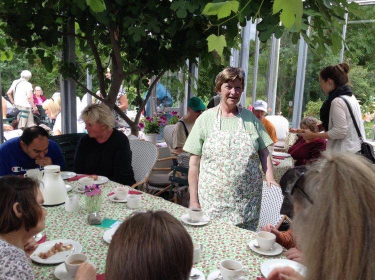 """Nina Dolriis fortæller:   """"Der vil som sædvanlig være servering af hjemmebagte kager og lette frokostanretninger, plus økologiske øl fra 'Det Våde Får' med en særlig øl-smagning den 22. september."""" Foto:AOB"""