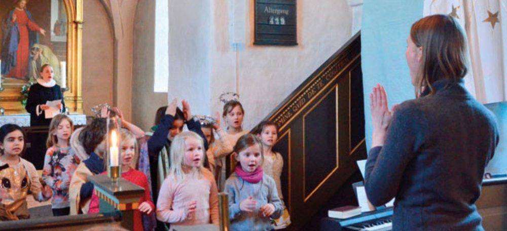Bl.a. vil Spirekoret fra Blovstrød vise, hvad de har øvet i løbet af sæsonen. Foto: AOB
