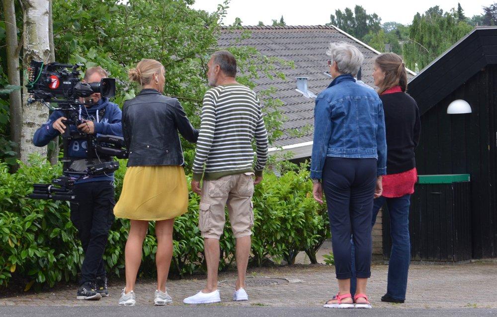 Genboerne - Grace og Ole Boll - fortalte til Go' Morgen Danmark, hvordan man fremover på flere måder har sikret sig mod indbrud. Foto: AOB