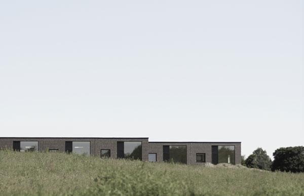 'Ugens arkitektur': Drabæk Huse her i Blovstrød er projekteret af Svendborg Architects.Foto: Svendborg Architects