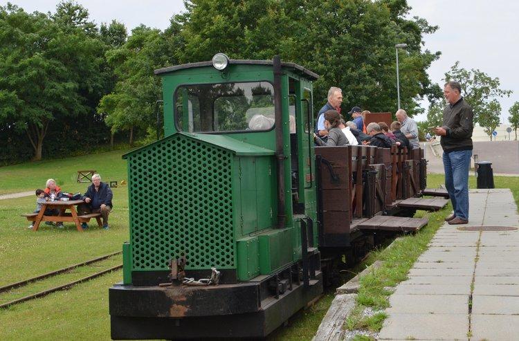 Blovstrødbanen kører hele sommeren, men kun hver anden søndag: Foto: AOB