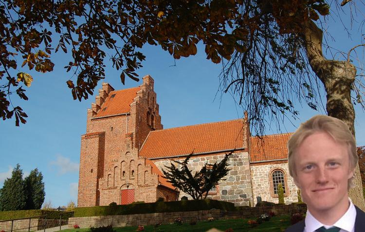Ole Lyngvåg bliver konstitueret sognepræst ved Blovstrød Kirke.