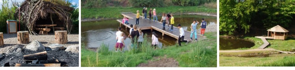 Billed-eksempler fra helhedsplanen, hvor man foreslår, hvad der kan etableres på den fredede Grønholmen. Fotos:Autens