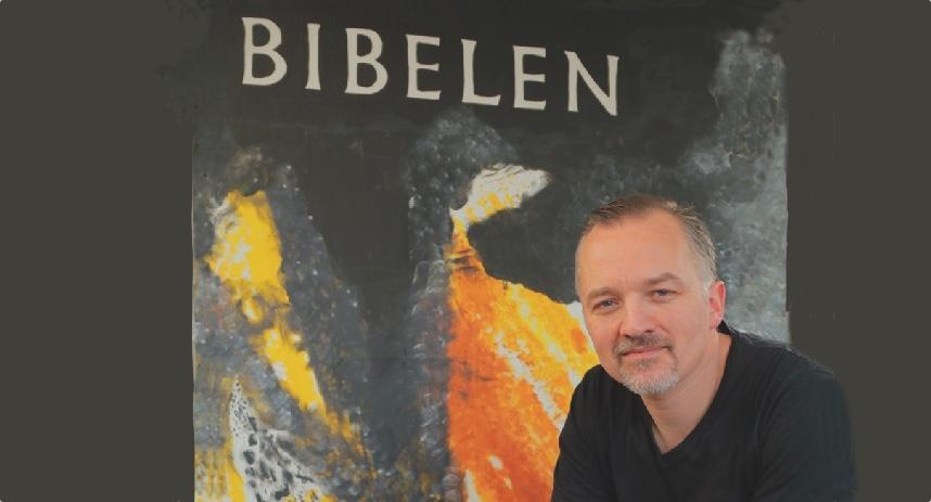 Klaus Laursen, der er professionel fortæller, vil fremføre Esters Bog. Pressefoto