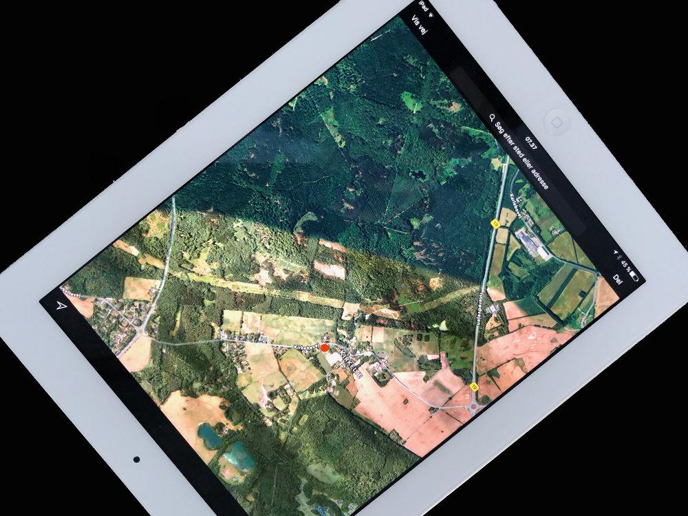 Da tyven blandt andet stjal en iPad, kunne den spores via app'en 'Find My iPhone'. Foto: AOB