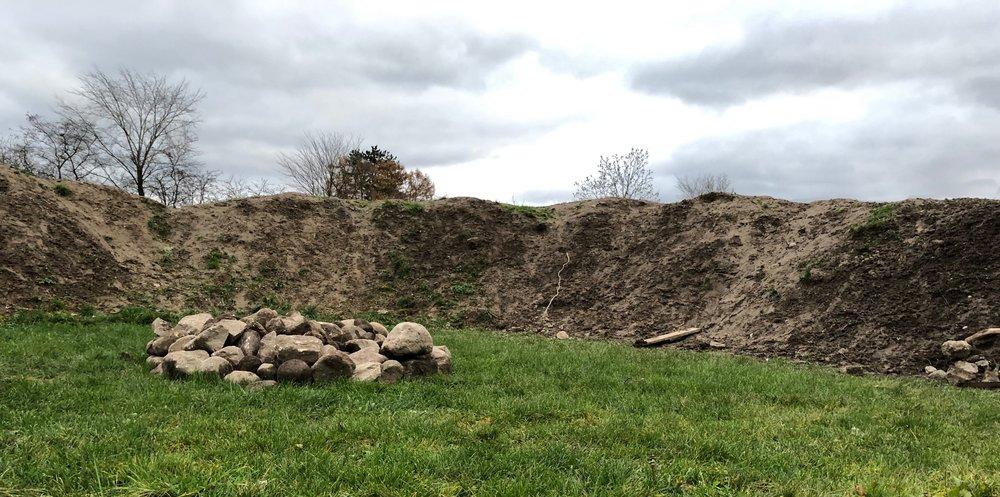 Her er spejdernes start til amfiteateret. Foto.: AOB