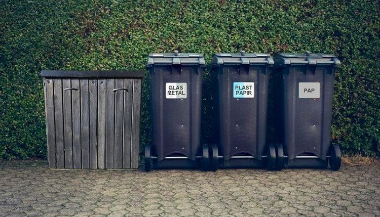 Allerød er et skridt nærmere grøn sortering af affald. Men kønt bliver det ikke. Manipuleret foto: AOB