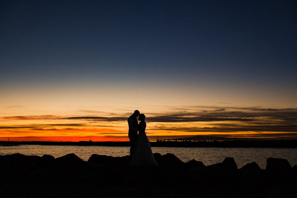 Newport Beach Sunset Wedding