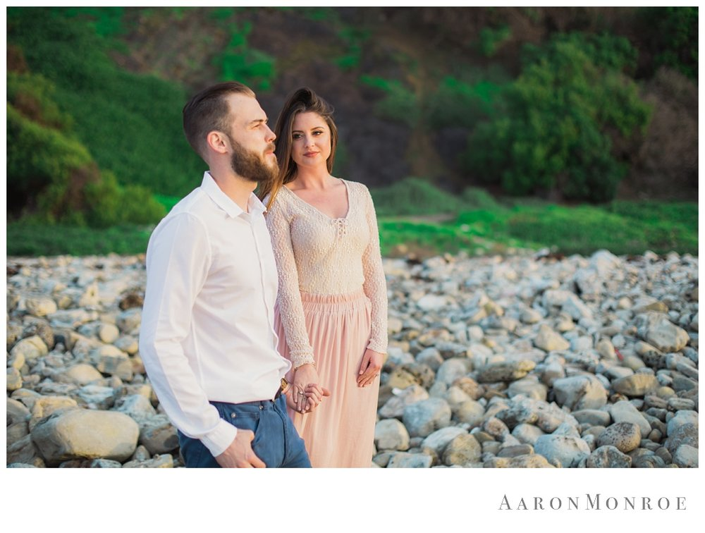 Malaga Cove Plaza Engagement Session.