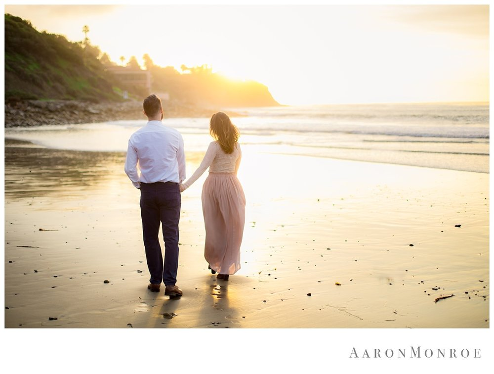 Malaga Cove Plaza Engagement Session