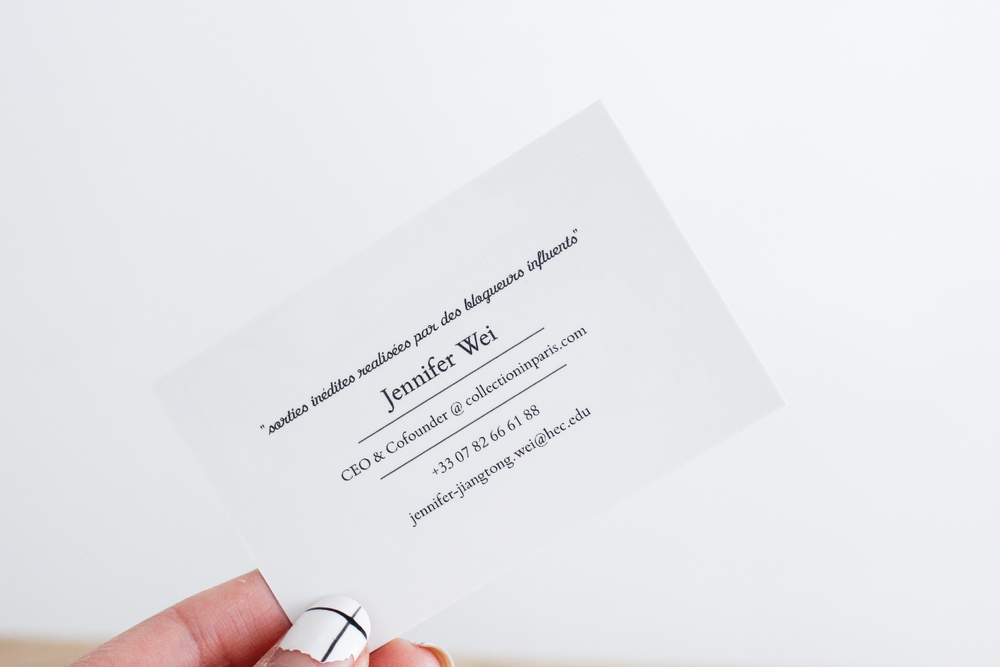 Chic Business Cards — TopProd