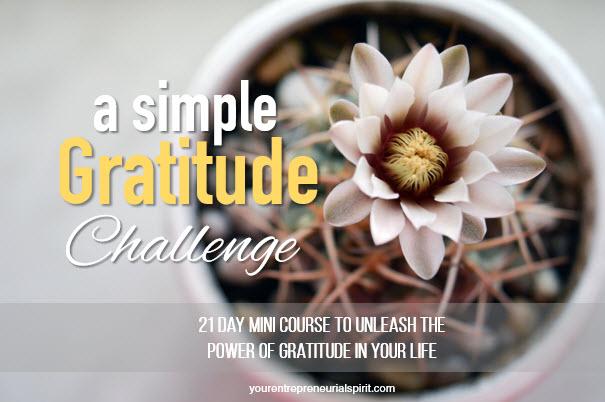 Simple Gratitude Challenge