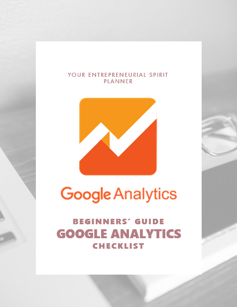 Use this planner to set up your google analytics