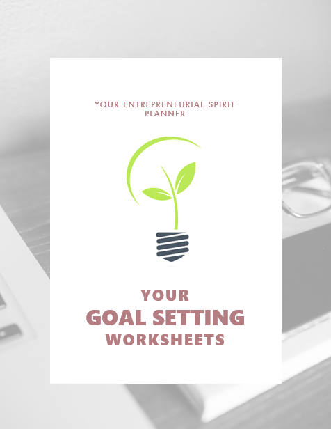 Use these worksheets to help set goals
