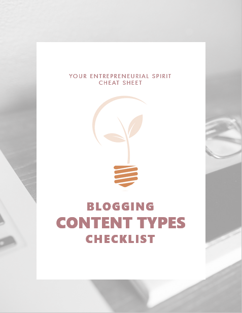 30 great content types for your blog
