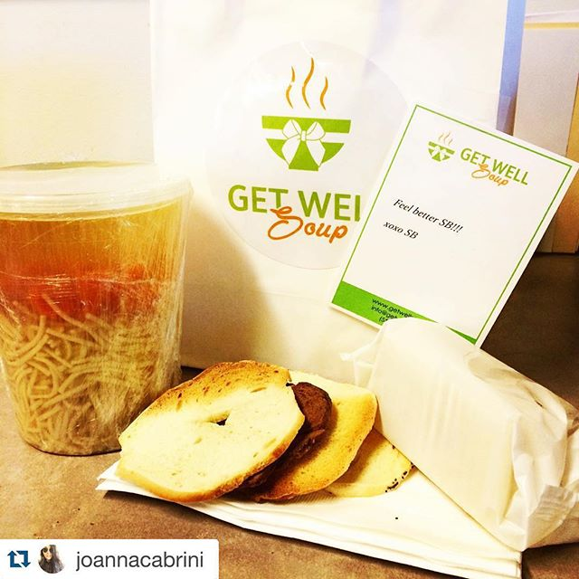 #Repost @joannacabrini・・・ Caught that cold #🤒 but my #bff @ldub_06 sent me the best care pkg ever!! Thank you @ldub_06 !!! 😘 And thank you @getwellsoup for delivering to my work!! #goinghomenowtostopspreadinggerms #longhashtags #tissuesfeellikesandpaper #rednose #chickensoup is #thecure  getwellsoup.com