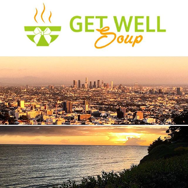 From #dtla to the #westside... Have friends of family that are home sick? Send them same-day hot soup & other get-well gifts from getwellsoup.com / #la #gifts #malibu #hollywood #sick #venice #santamonica #wellness #ucla #usc #southbay / #getwellsoup @getwellsoup