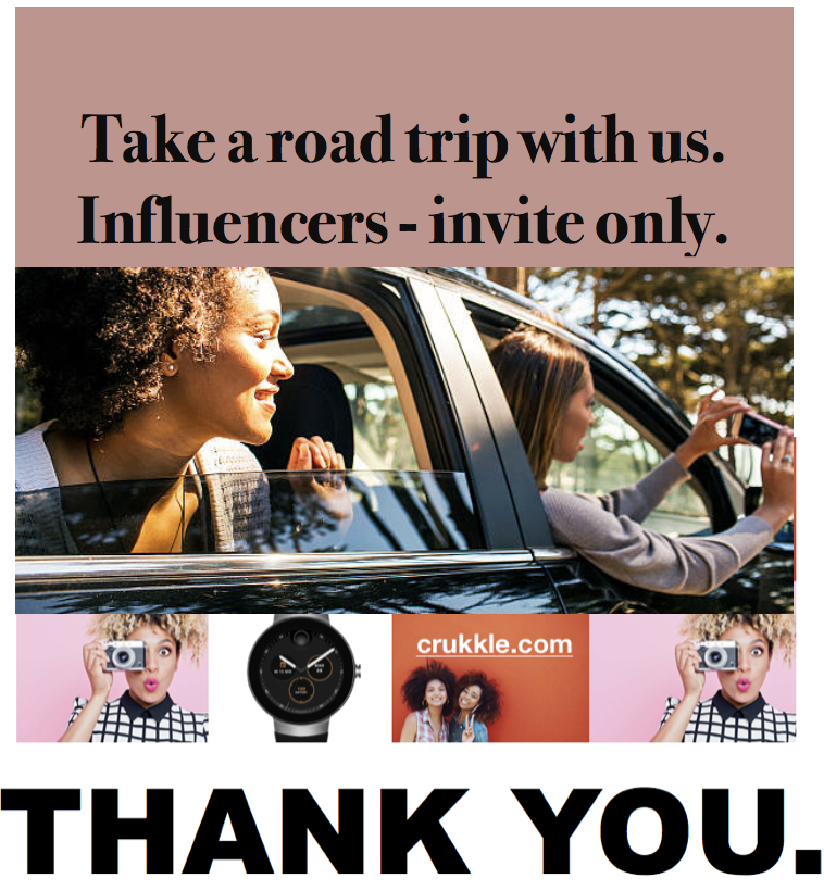 Take a road trip with us.