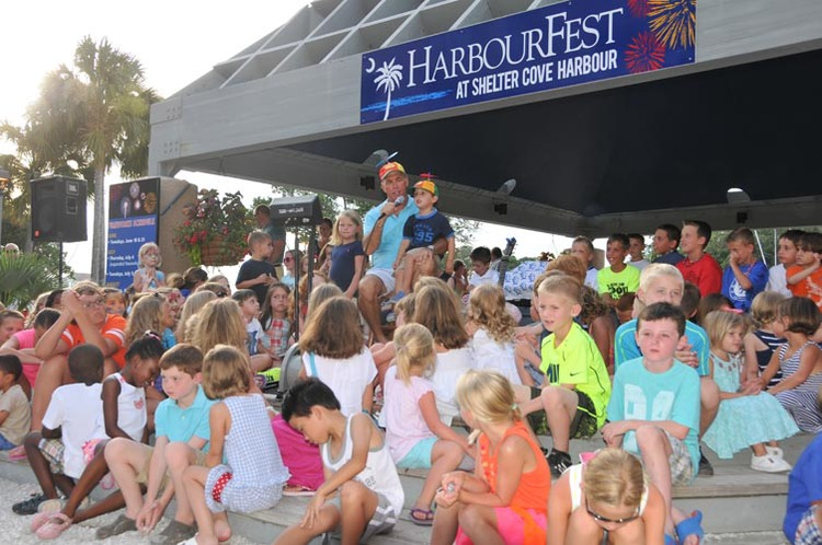 kids at HarbourFest
