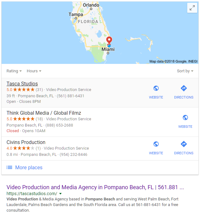 Video Production and Media Agency   West Palm Beach ... on map of san diego beaches, map of south daytona fl, map of tampa and pompano,