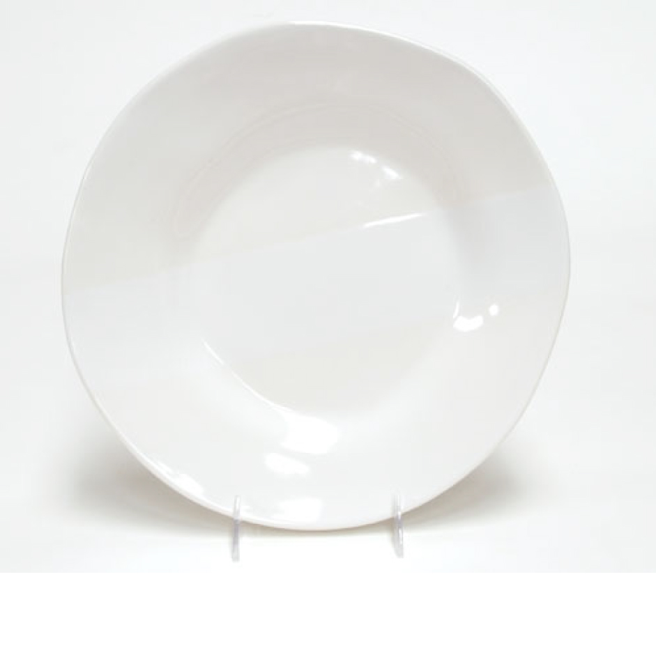 Oversize Ceramic Round Dinner Plate by Alex Marshall