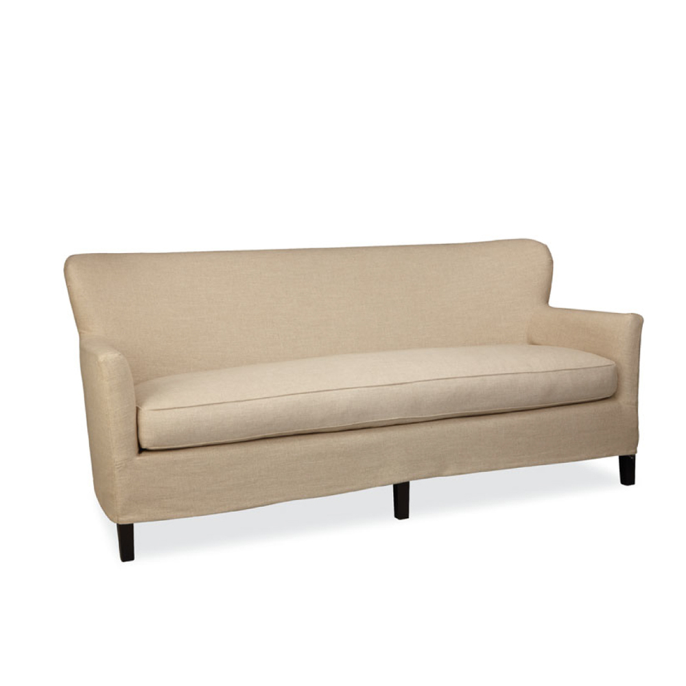 Lee Industries Slipcover Apartment Sofa
