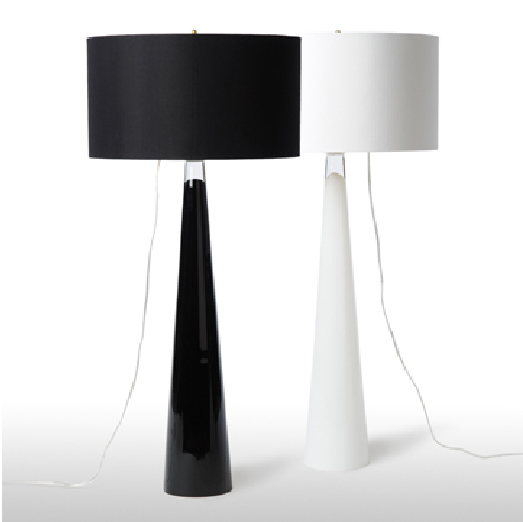 Black and White Medium Table Lamp