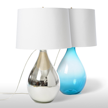 Tear Drop Table Lamp