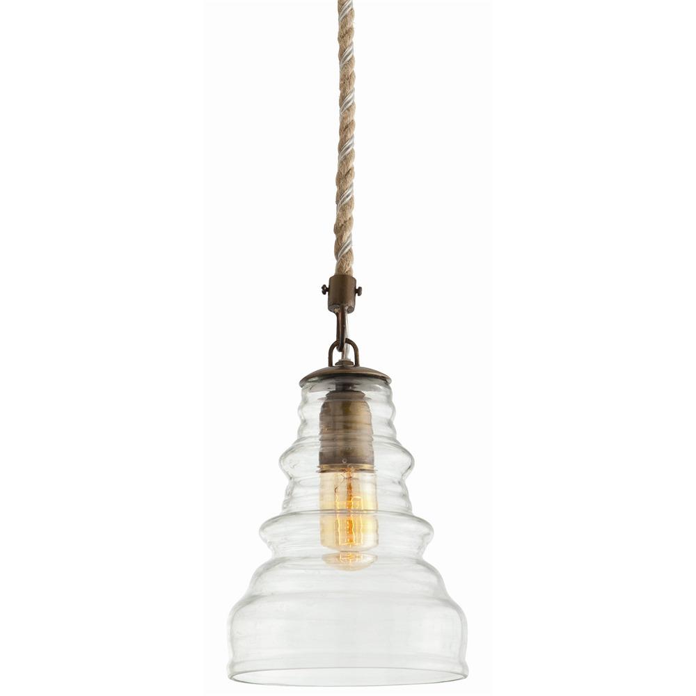 Wesley Glass Pendant