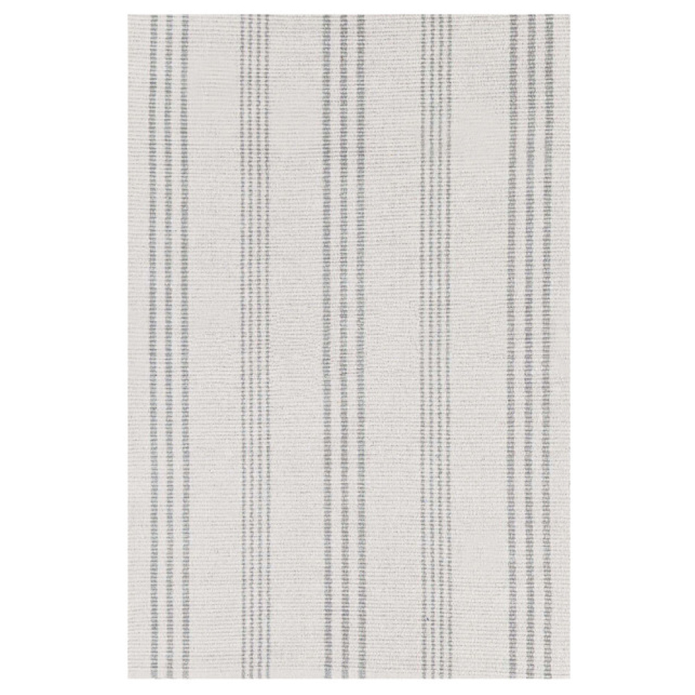 Aland Stripe Woven Cotton Indoor Rug