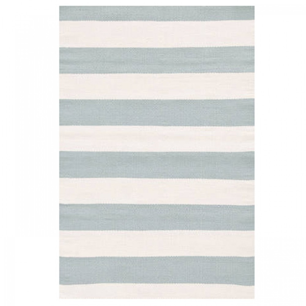Catamaran Stripe Light blue Outdoor Rug