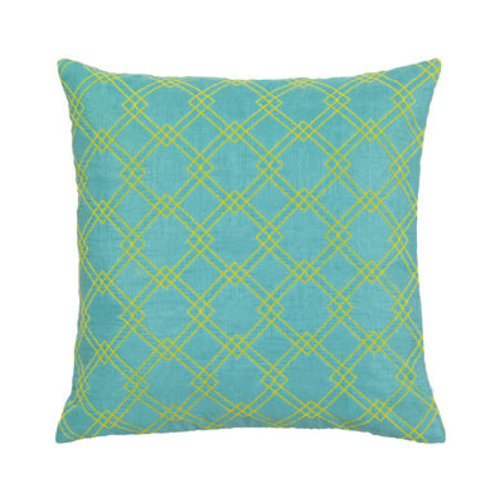 Pool Tile Outdoor Pillow