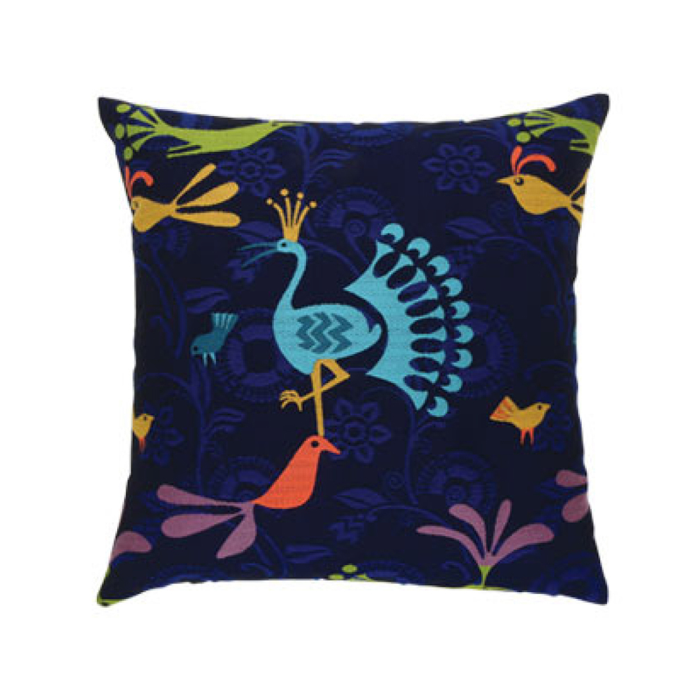 Flight Midnight Outdoor Pillow