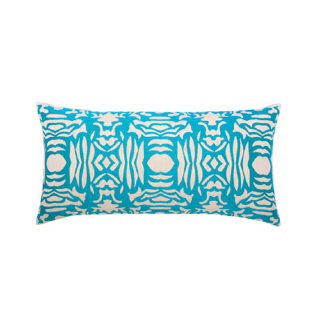 Aruba Block Outdoor Pillow