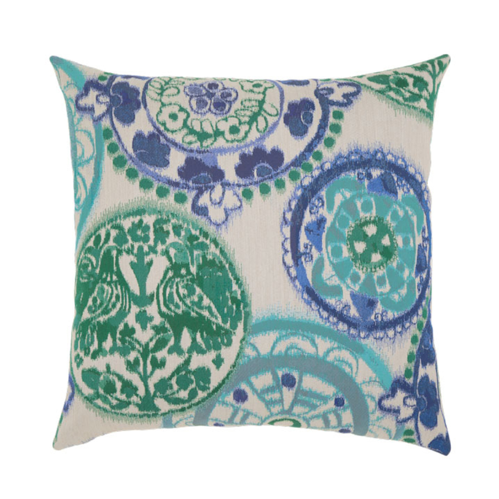 Emerald Waters Outdoor Pillow