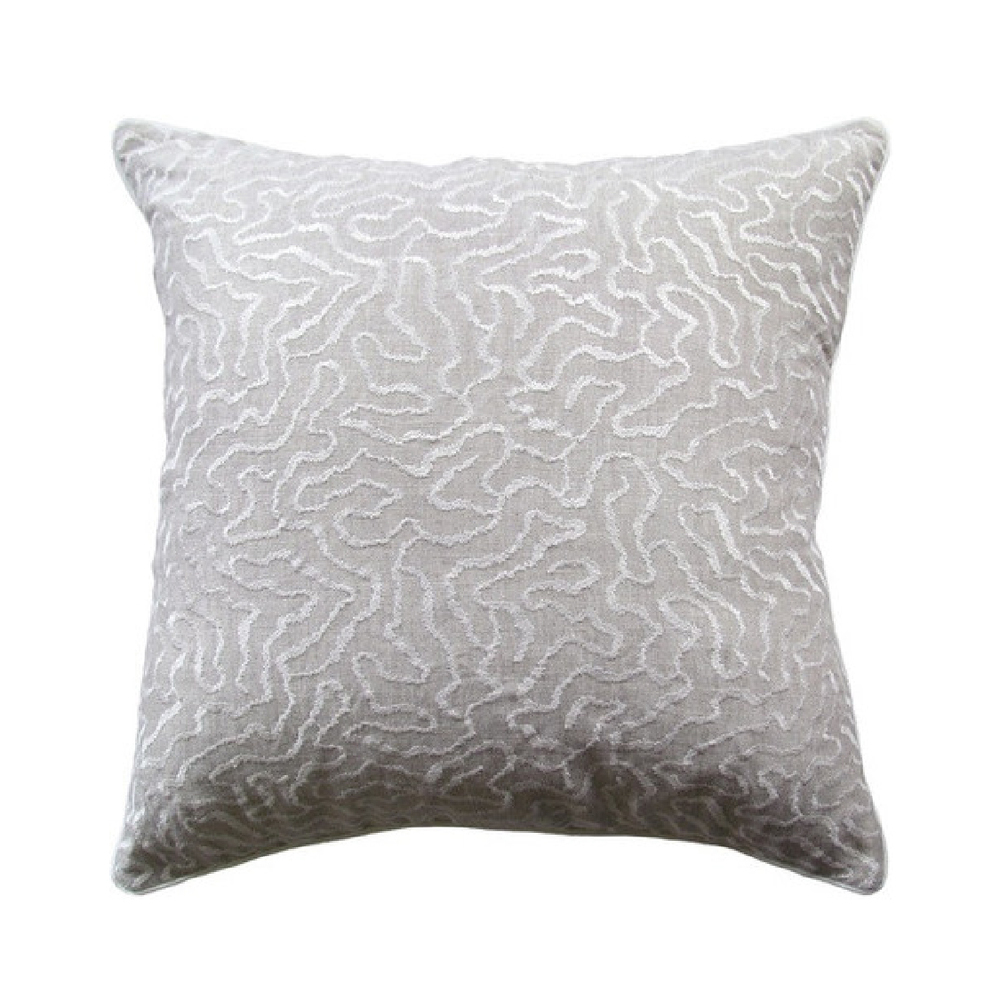 Gray Corralina Pillow