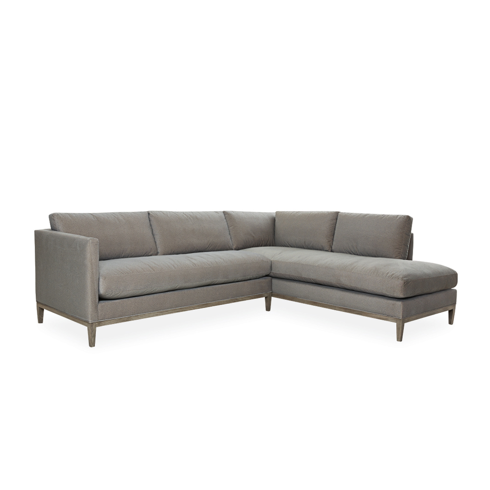 Lee Industries Sectional Sofa with Topstitch
