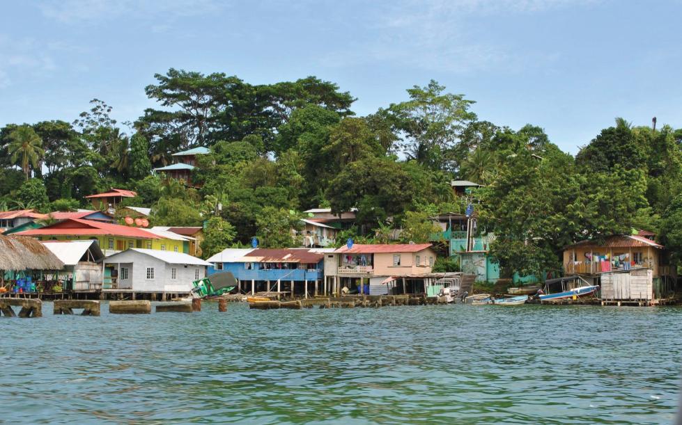 Old Bank, Bastimentos. Bocas Del Toro