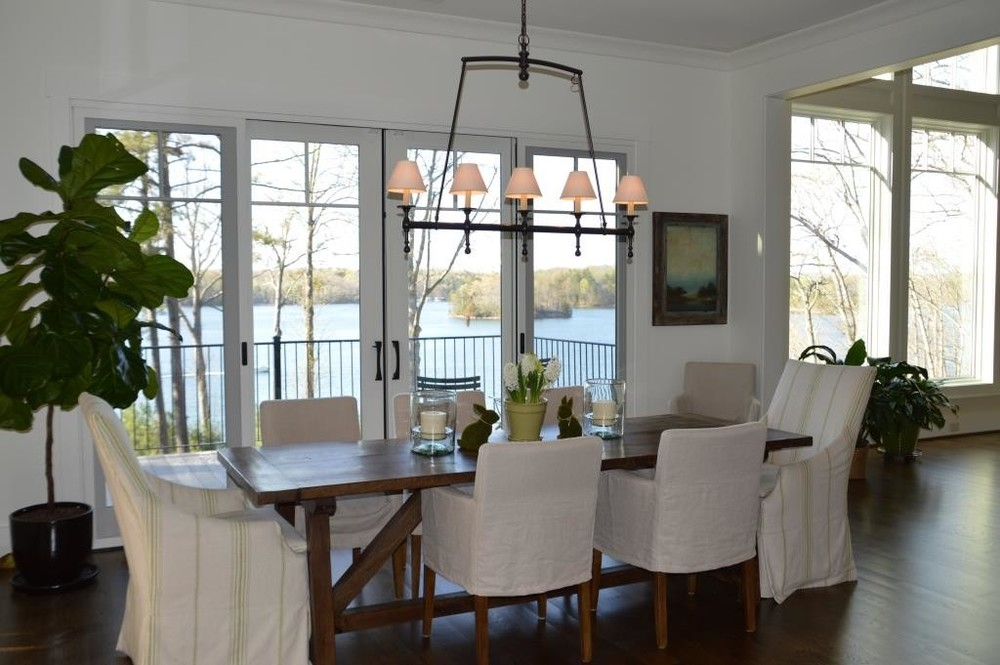 Lee Industries Dining Chairs - Image via Laura Ramsey Interiors