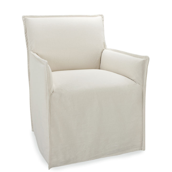 Lee Slipcover Jasmine Arm Chair