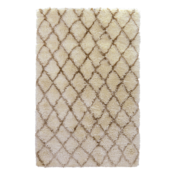 Silky Loop Diamond Rug