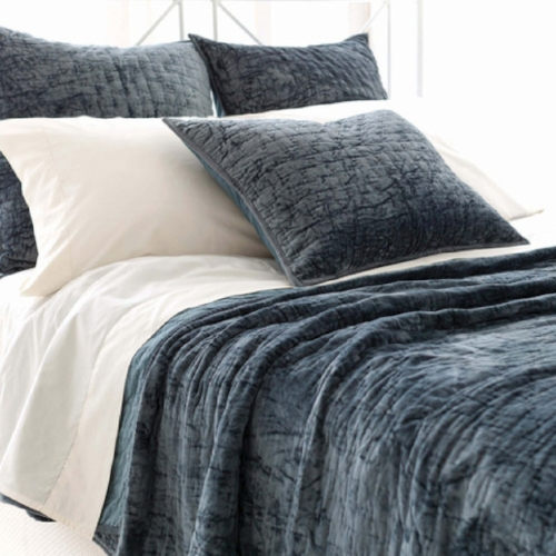 Pine Cone Hill Matte Velvet Quilted Collection