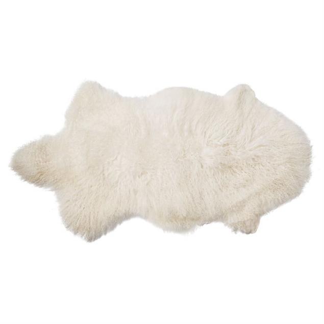 sheepskin-throw