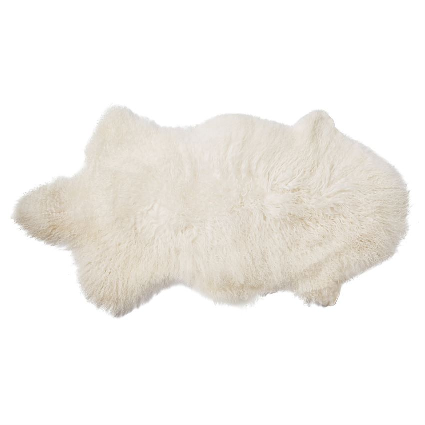 Icelandic Sheep Fur throw