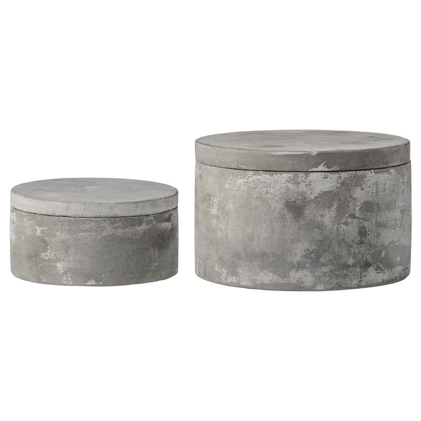 Small Cement Storage Boxes