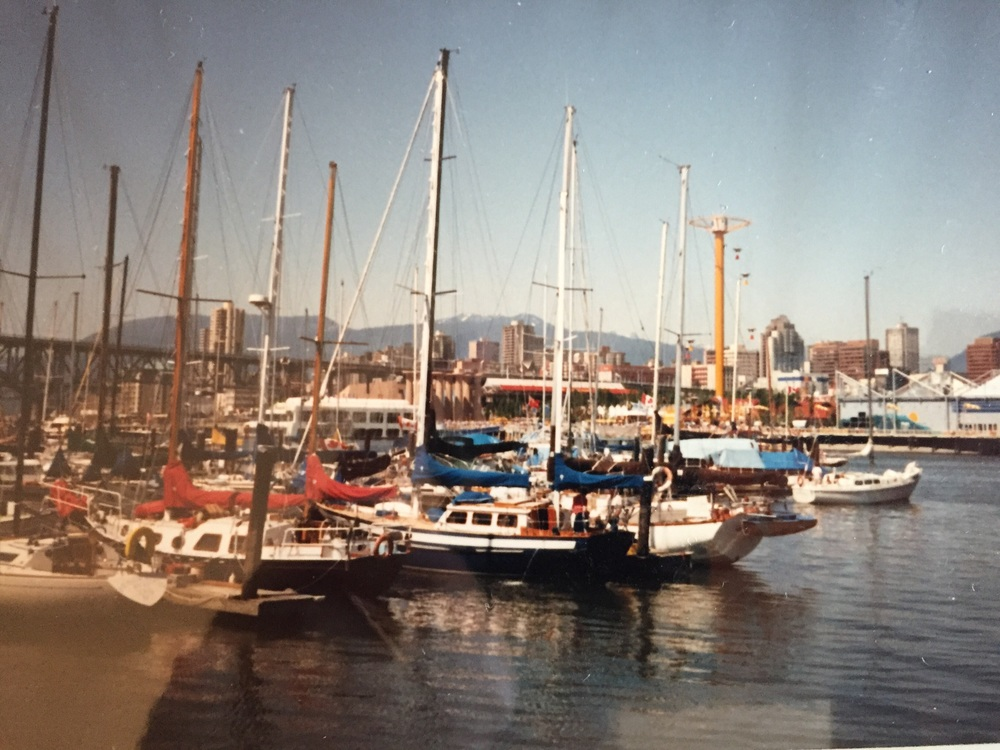 At first I thought this was Fisherman's Wharf just outside of Granville Island but I believe it's outside of Leg in Boot Square. We've cleaned the carpets of many of these boats... Yes we do boat carpet cleaning as well.