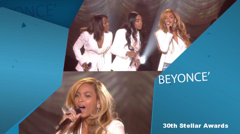 Beyonce Editing Stellar Awards