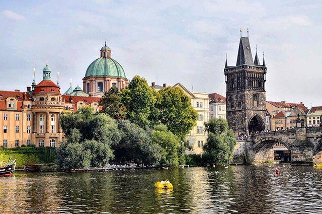 Exploring Prague this weekend